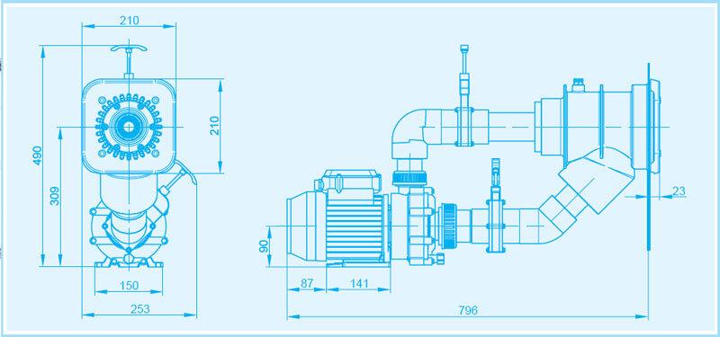 aqua-flowjet-dimensionen-maße