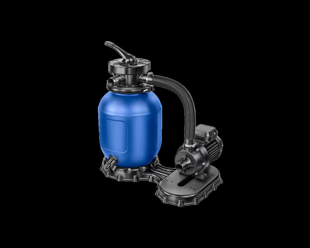 Sandfilter AQ 280 hier in Kombination mit einer Aqua Mini 4