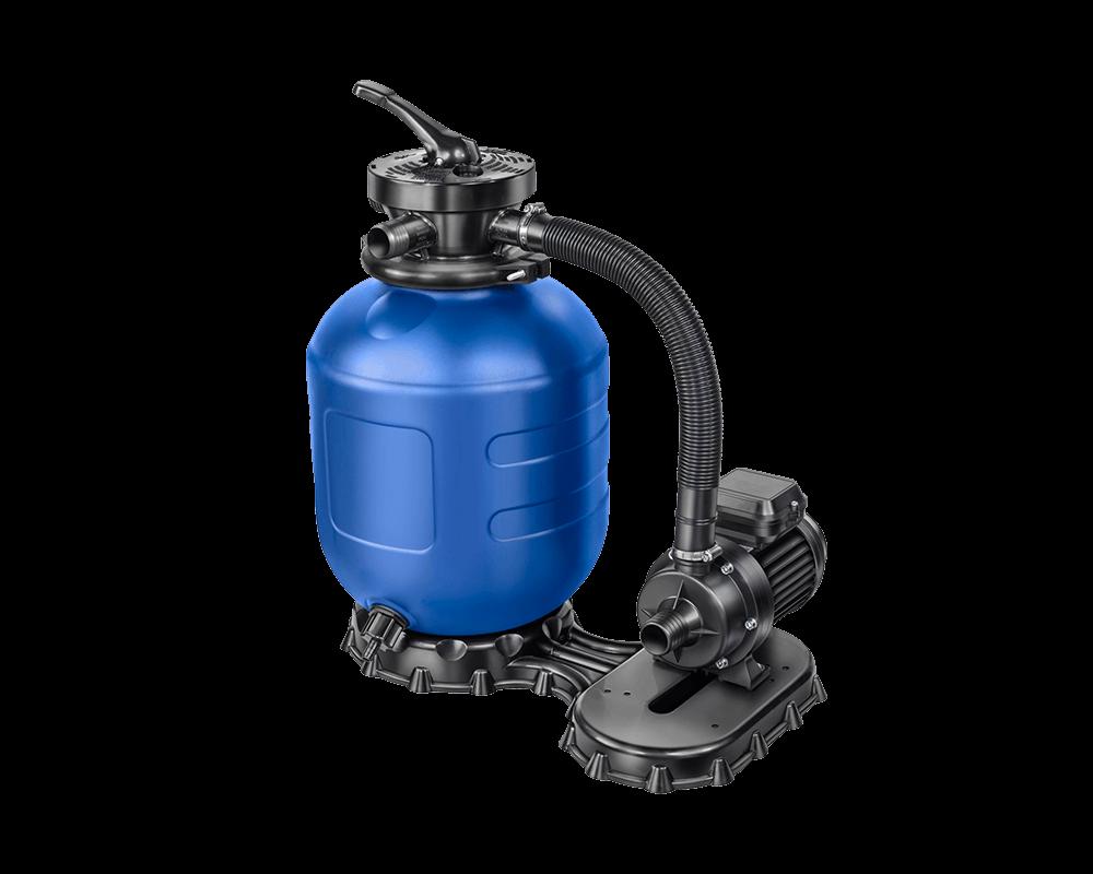 Aquatechnix Sandfilteranlage AQ 280 mit einer Aqua Mini Pumpe