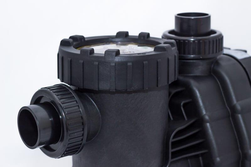 Klebeanschlüsse der Aqua Master Pumpe