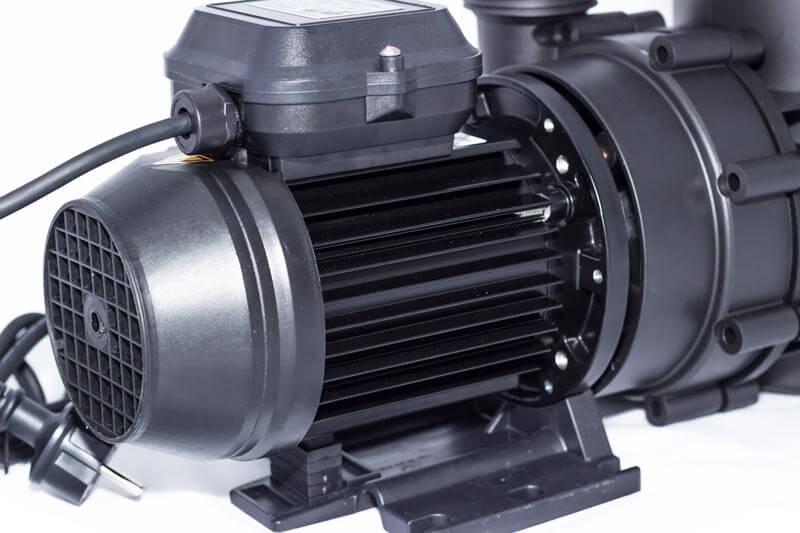 Pulverbeschichteter Motor der Aqua Maxi
