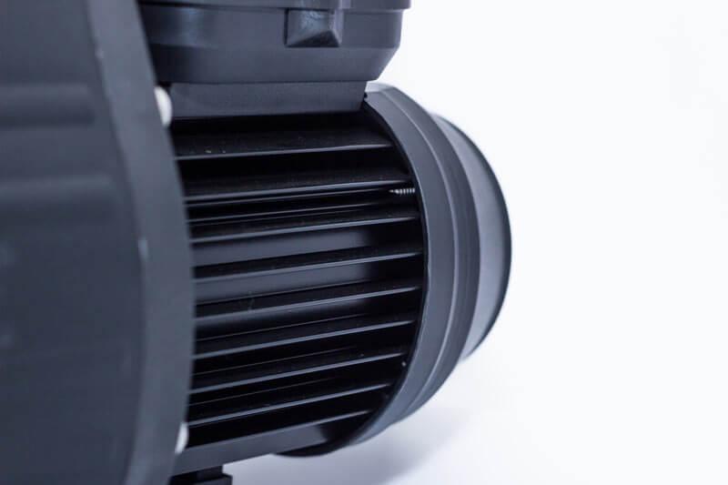 Der pulverbeschichtete Motor der Aqua Plus