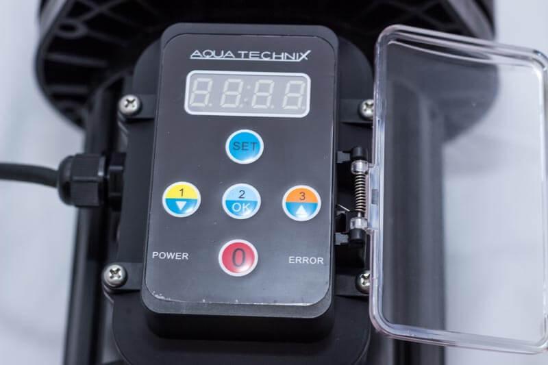 Regelbarer Motor für einen geringeren Energieverbrauch